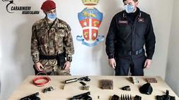 Ciminà (RC): nuovo ritrovamento di armi da parte dei carabinieri
