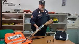 Lungro, caccia al cinghiale: denunciato un cacciatore di Firmo