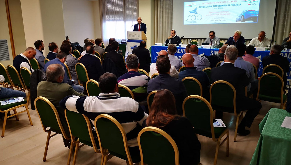 Reggio Calabria, congresso Sap