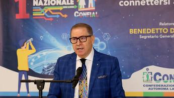 Confial: Benedetto Di Iacovo eletto segretario generale