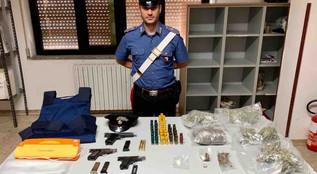 Controlli nel crotonese droga e armi. Attività a Crotone, Petilia Policastro e Isola Capo Rizzuto