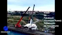 Praia a Mare, ripristinata la viabilità sulla SS 18. Rimessi in posizione i Tir ribaltati - VIDEO