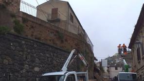 Corigliano Rossano, verifiche alla chiesa S. Marco dopo il crollo del nubifragio