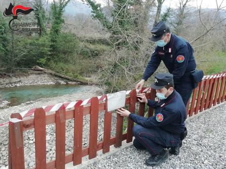 San Sosti, sigilli per lavori lungo l'alveo del fiume Rosa