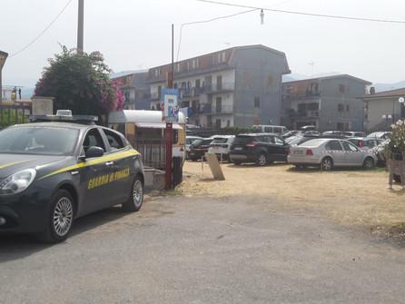 Santa Maria del Cedro, sequestrata un'area parcheggio di 1.300 mq