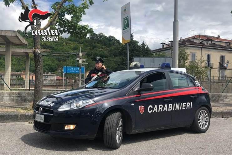 Cosenza, carabinieri