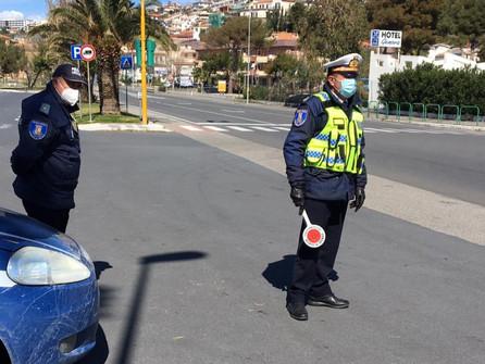 Scalea, predisposti posti di controllo della polizia locale