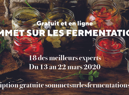 Sommet sur la fermentation