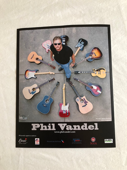 8x10 Guitar Circle Picture