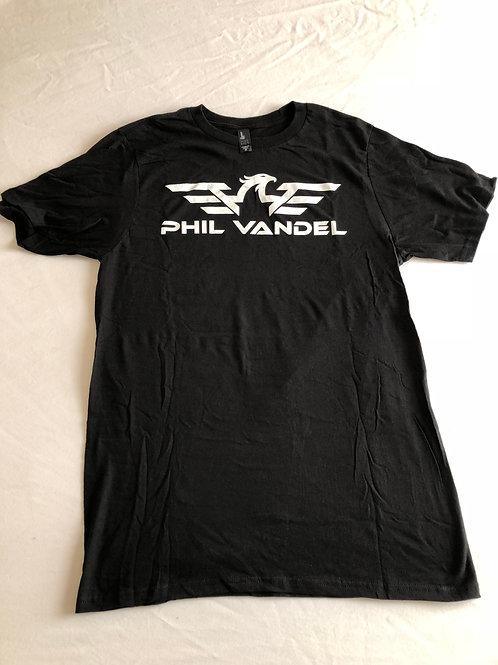 Black w/ White PV Logo Concert T-Shirt