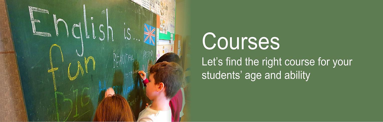 Immersive English language courses in Czech Republic schools