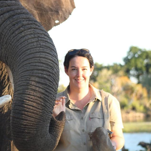 Elephant and Ann