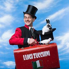 Luigi Zucchini magic comedy