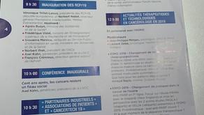 """ATOUTCANCER présent aux Réunions de la Cancérologie Française """"RCFr 2019"""""""