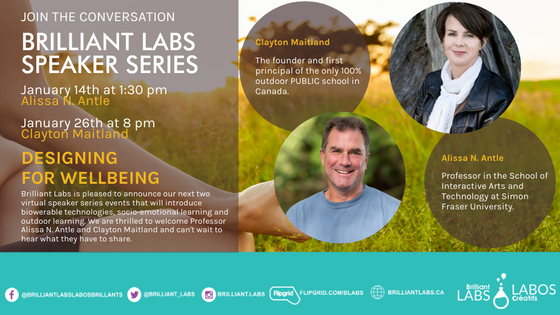 Join the Conversation in January with our Brilliant Labs Speaker Series