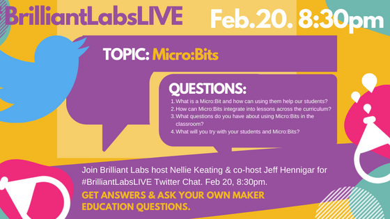 NEW: Brilliant Labs Twitter LIVE Chat