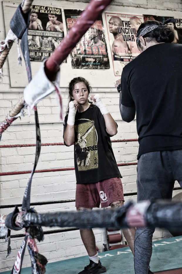 Editorial From the oldest boxing gym in Vegas