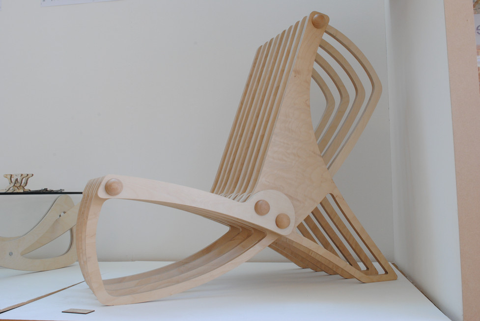 Chairs manufactured using CNC
