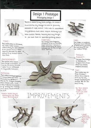 Design development for coffee tables