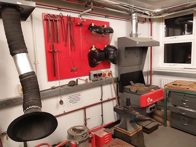 Metals & heat treatment area