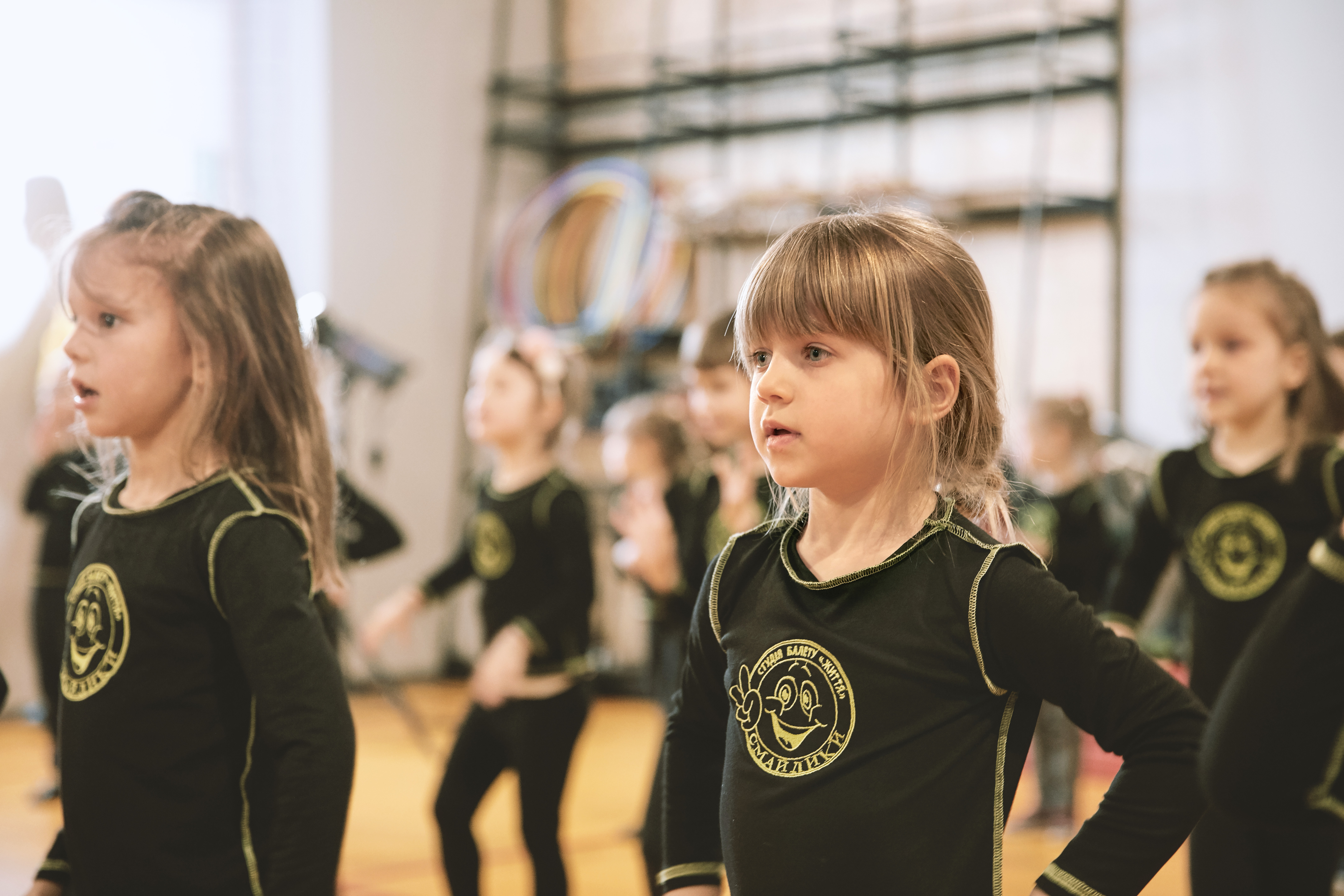 Klasa baletowa dla dziewcząt