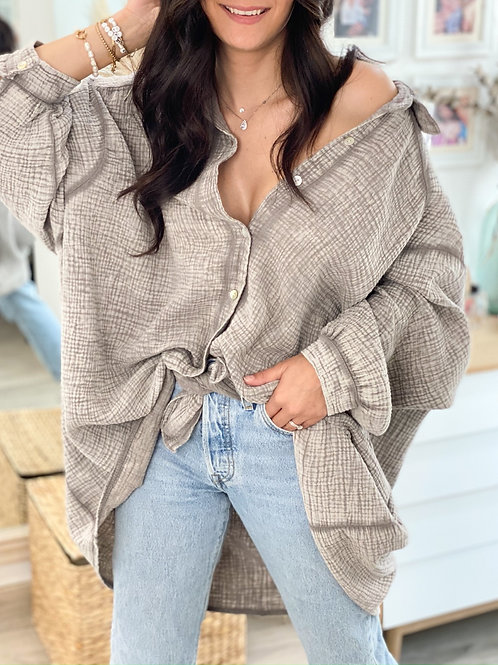 Chemise Fanny Taupe