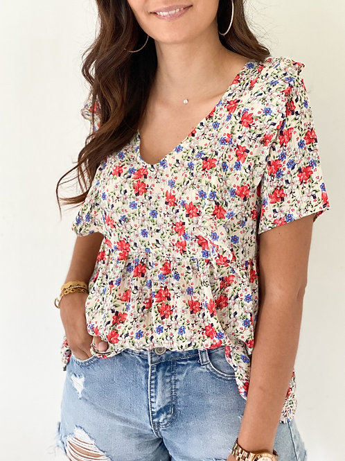 Blouse Sophy Blanche