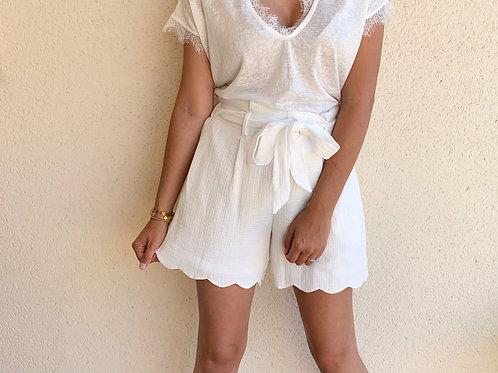 Short Miranda Blanc