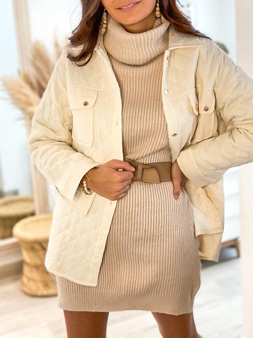 Robe/Tunique Sandra Beige