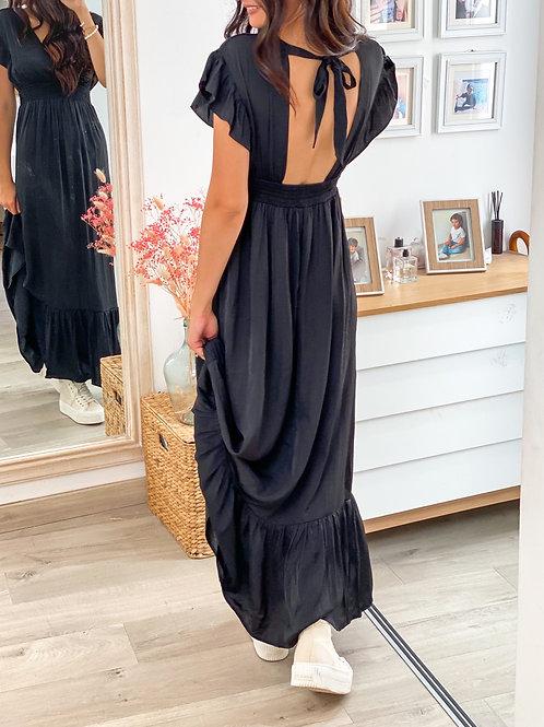 Robe Clemence  Noir