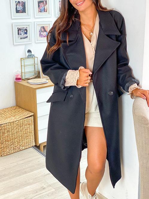 Manteau Nina Noir
