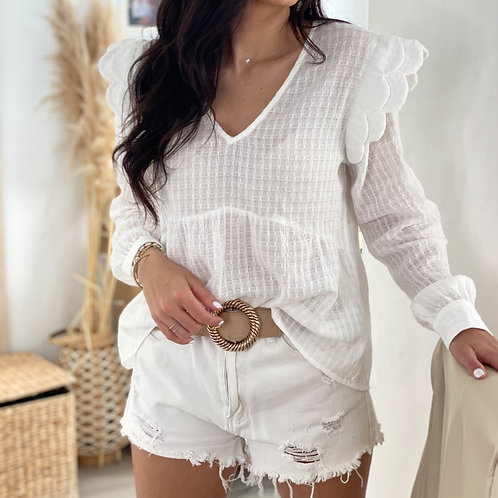 Blouse Tania Blanche