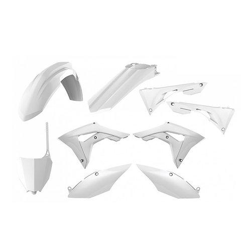 BOX KIT HONDA CRF250R 18-19, CRF450R 17-19 WHITE