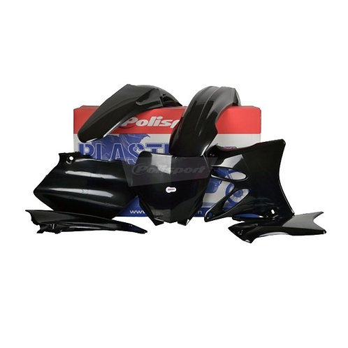 BOX KIT YAMAHA YZ125/250 06-14 BLACK