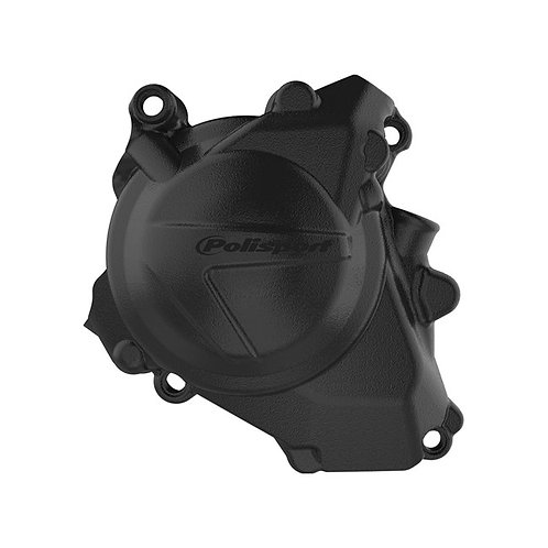 IGNITION COVER PROTECTOR HONDA CRF450R/RX 17-18 Black