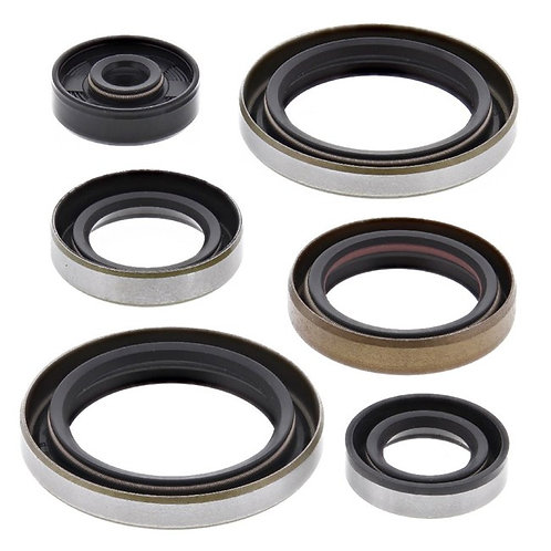 ENGINE OIL SEAL KIT KAWASAKI KX125 90-91 (822298)