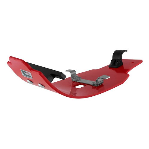 DTC MX ENGINE GUARD HONDA CRF450R/RX 17-18 RED