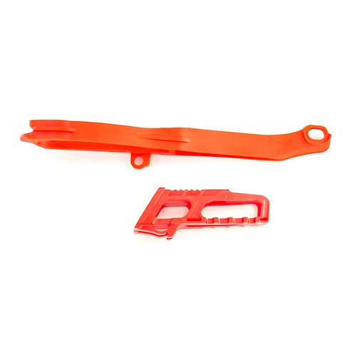 CHAIN GUIDE/SLIDER KIT HONDA CRF250R 14-17, CRF450R 13-16 Red