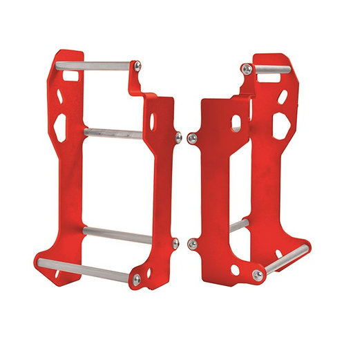 ALUMINIUM RADIATOR BRACES HONDA CRF450R/RX 17-18 RED