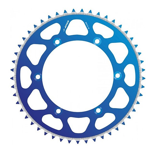 SPROCKET REAR EVOLITE YAMAHA BLUE 50T YZ//WR125/250 >98