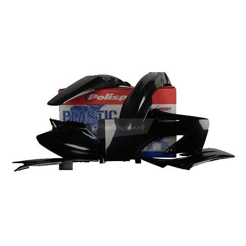 BOX KIT HONDA CR125/250 04-07 BLACK (02-03 DIFF FP)