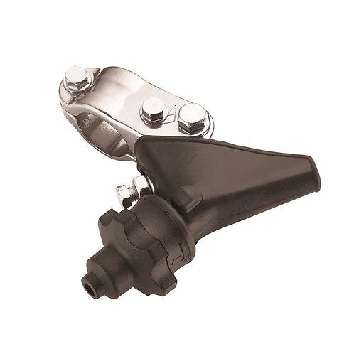 CLUTCH LEVER HOLDER HONDA CR125/250 04-07, CRF250R 10-17, CRF450R 09-17 SILVER (