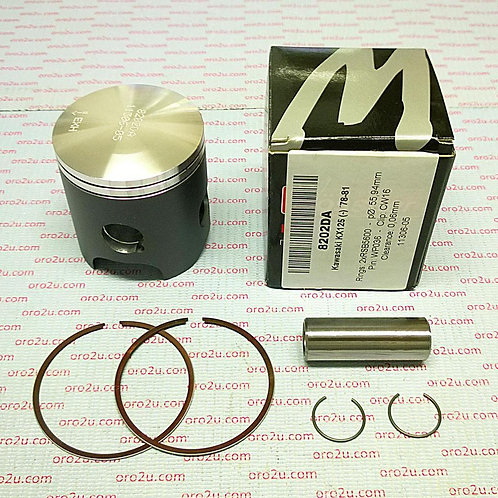 PISTON KIT 78-81 KX125 56.50 FORGED WOSSNER 8202D050