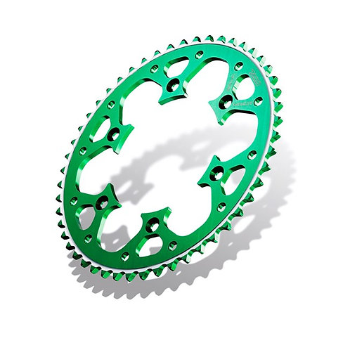 SPROCKET REAR RADIALITE KAWASAKI KX125/250 80-08, KX250F/450F 04-19 47T GREEN