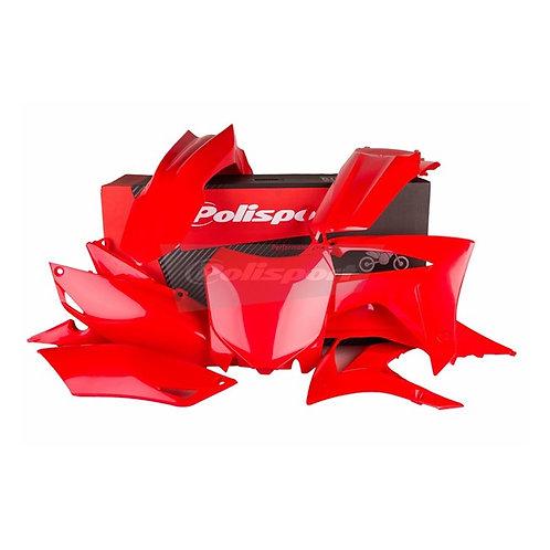BOX KIT HONDA CRF250R 14-17, CRF450R 13-16 RED