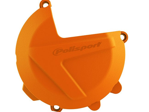 CLUTCH COVER PROTECTOR KTM/HUSKY SX-F 250-350 16-18, EXC-F 250-350 17-18 ORANGE