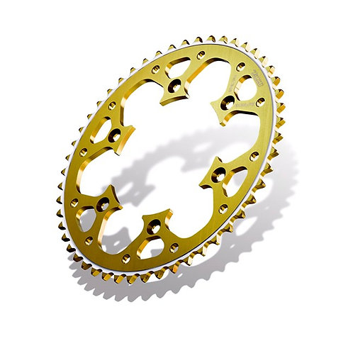SPROCKET REAR RADIALITE HONDA CR/CRF 125/250/450 >19 50T GOLD