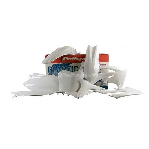 BOX KIT HONDA CRF250R 11-13, CRF450R 11-12 WHITE