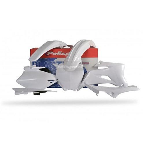BOX KIT YAMAHA YZ250F/450F 06-09 WHITE