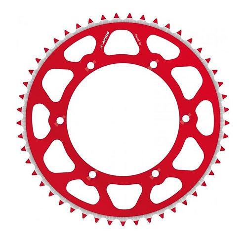 SPROCKET REAR EVOLITE HONDA CR/CRF 125/250/450 >19 53T RED